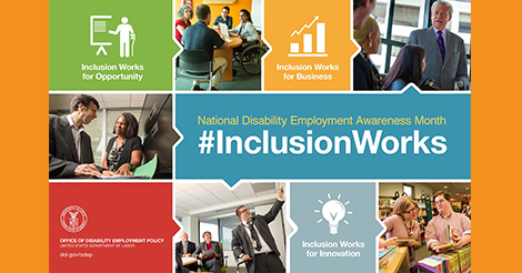 NDEAM poster / Inclusion Works