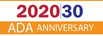 2020/30 ADA anniversary