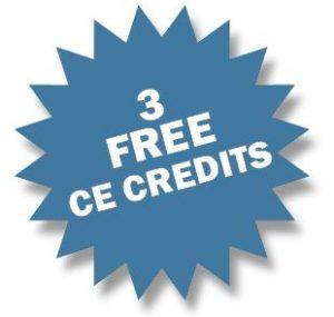 3 Free CE Credits