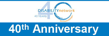Disability Network 40th Anniversary logo