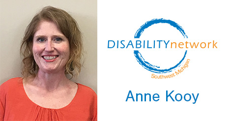 Anne Kooy, Disability Network Southwest Michigan
