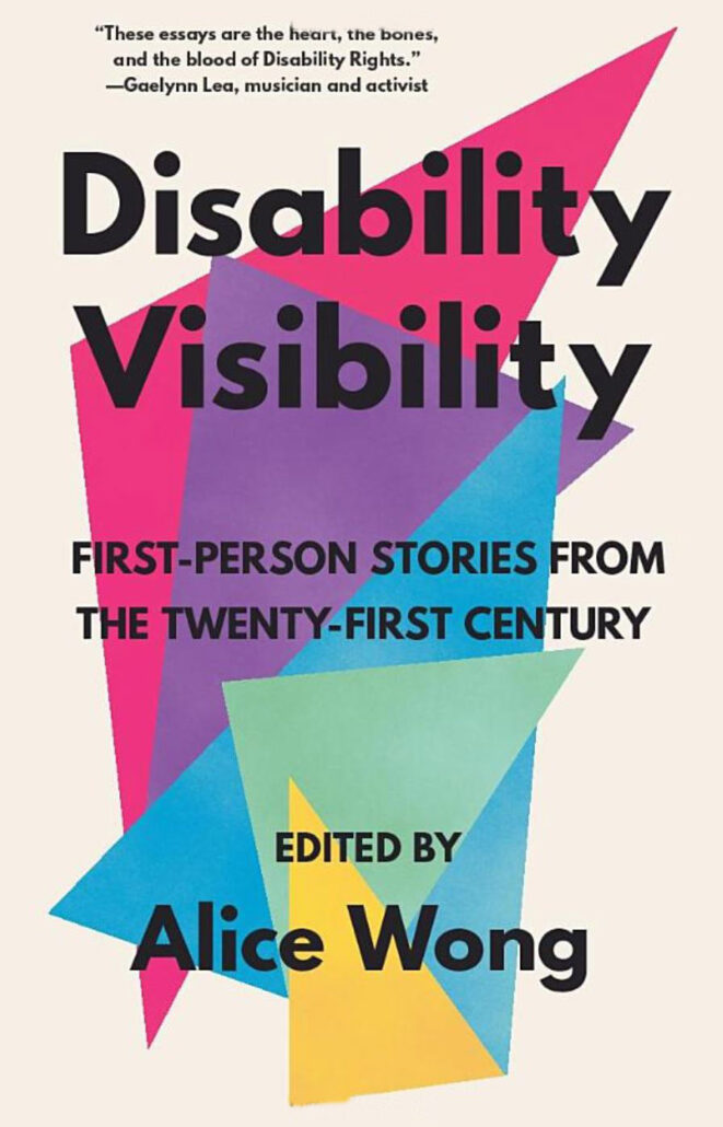 Disability Visibility book jacket