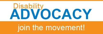 Disability Advocacy - join the movement!