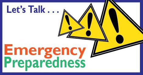 Let's Talk . . . Emergency Preparedness