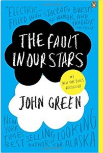 Book Jacket: The Fault in Our Stars