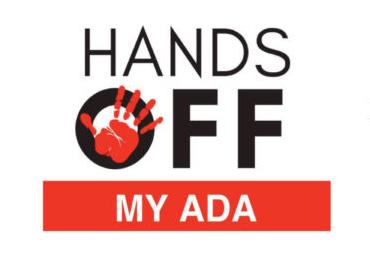 Hands Off my ADA