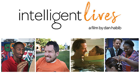 """Intellignet Lives"" with photos of 4 people highlighted"