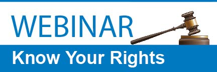 webinar - Know your rights