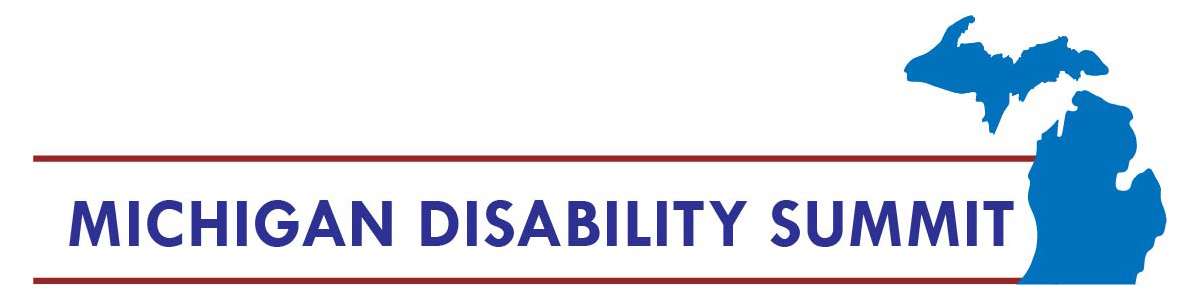 Michigan Disability Summit logo