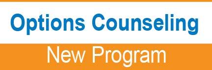 Options Counseling New Program
