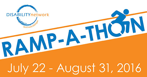 Ramp-a-thon July 22-August 31, 2016