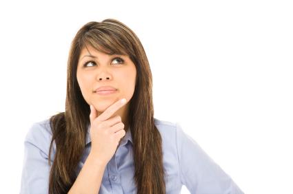 woman pondering
