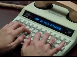 Teletypewriter (TTY)