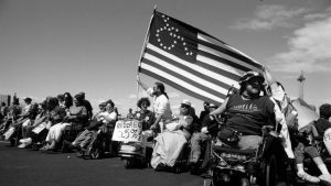 disability rights rally