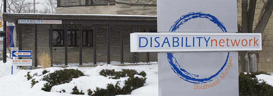 Disability Network sign