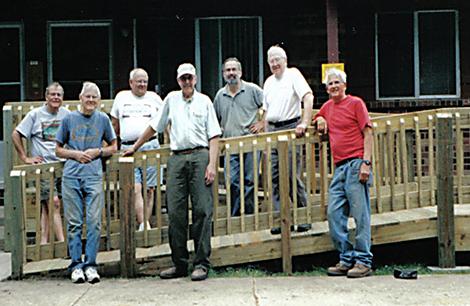 Volunteer ramp group