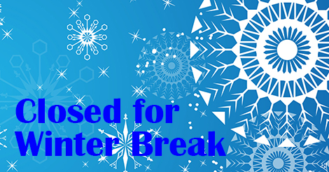 Closed for winter break